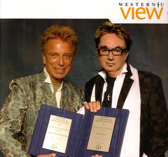 Siegfried and Roy at College