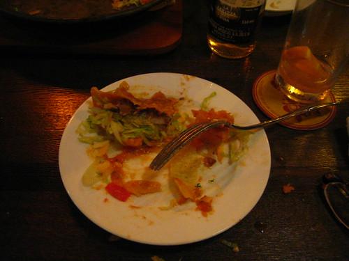 leftover taco