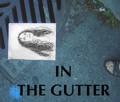 Self Portrait #6- In the Gutter