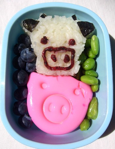 Barnyard Snack Bento for Toddler