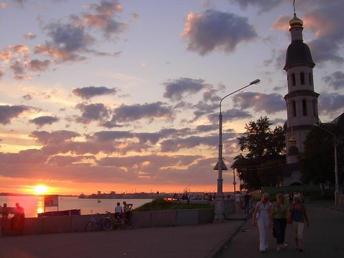 Закат и церковь \ Sunset & a church