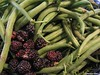 Green Beans and Raspberries
