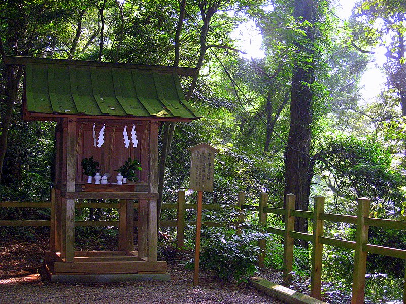 A small shrine at Kashima Jingu