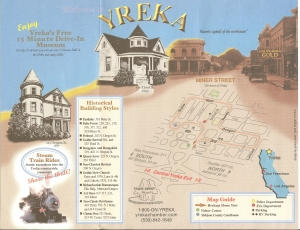 Yreka, CA Map of Downtown