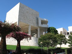 One of the Getty Center wings