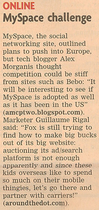 Quote in the Financial Times