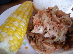 Eastern North Carolina-style Pulled Pork Sandwich