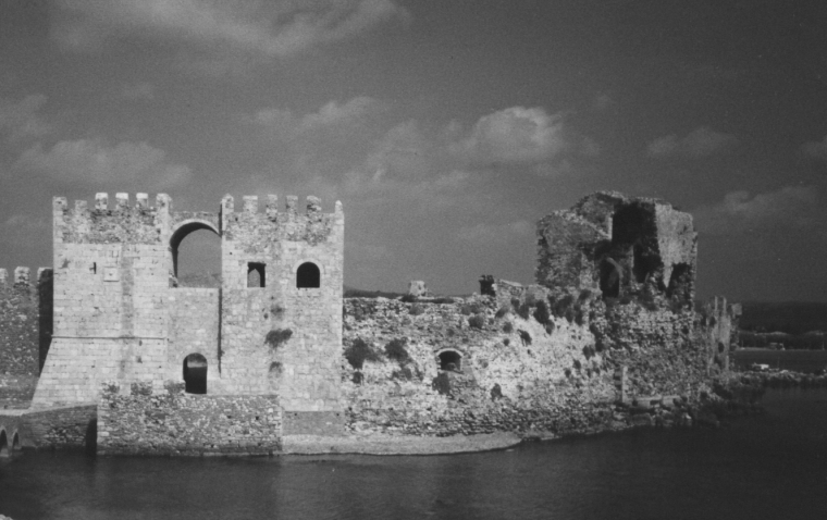 Castle of Methoni, sea gate