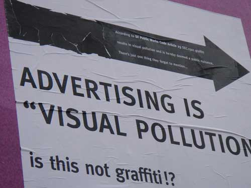 Road Signs are Visual Pollution: How Can We Reduce Them?