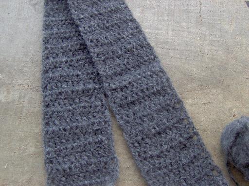 merino frappe scarf