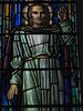 Detail of The Ascended Window by Napier and Christian Waller; St Mark's Church of England - Corner Burke and Canterbury Roads, Camberwell