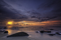 Magical sunset photo by m_haefeli