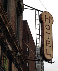 Vintage Keller Hotel Sign NYC photo by Professor Bop