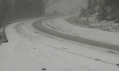 10/27- Snowy commute on Teton Pass