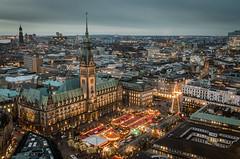 Hamburger Rathaus, Germany photo by FotoByOliver
