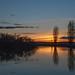 Sunset on RAAF Base Williams