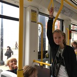On the tram<br/>01 Oct 2016