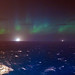 Northern Lights from an Oil Rig
