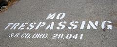 No Trespassing (2731)