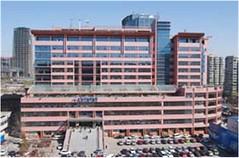 北京海淀医院让人仰望不止的台阶