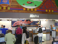 Aloha Airlines - Checkin Honululu Airport