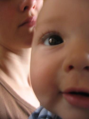 Papa's eyes