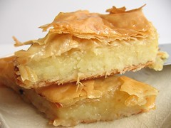 Mediterranean Phyllo-Semolina Pie