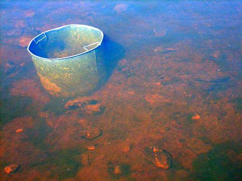 Bucket in Water