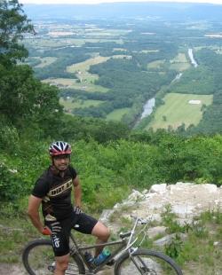 Massanutten trail overlook