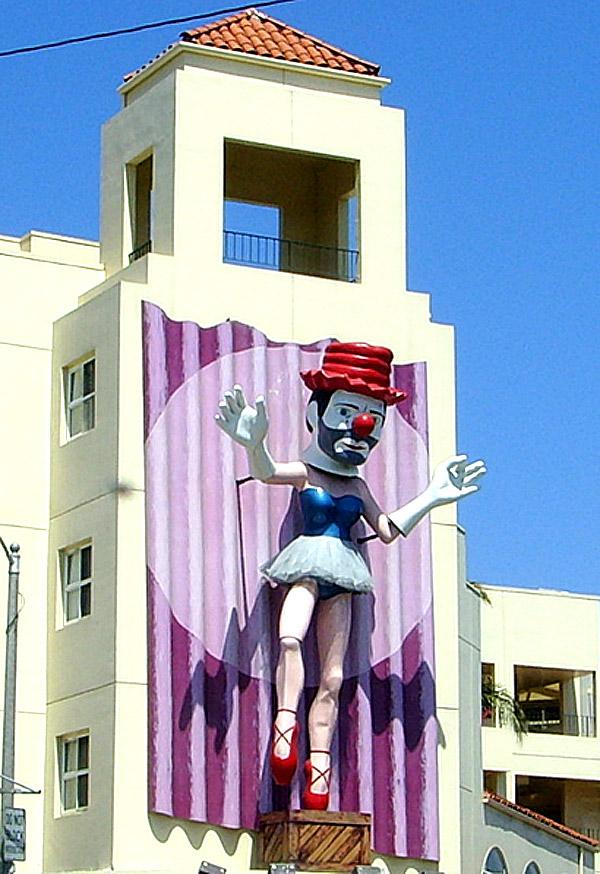 jonathan borofsky ballerina clown