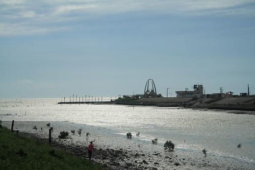 後港溪出海口