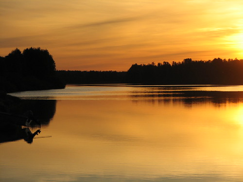 Midnight Sun in Sodonkyl�, Finland