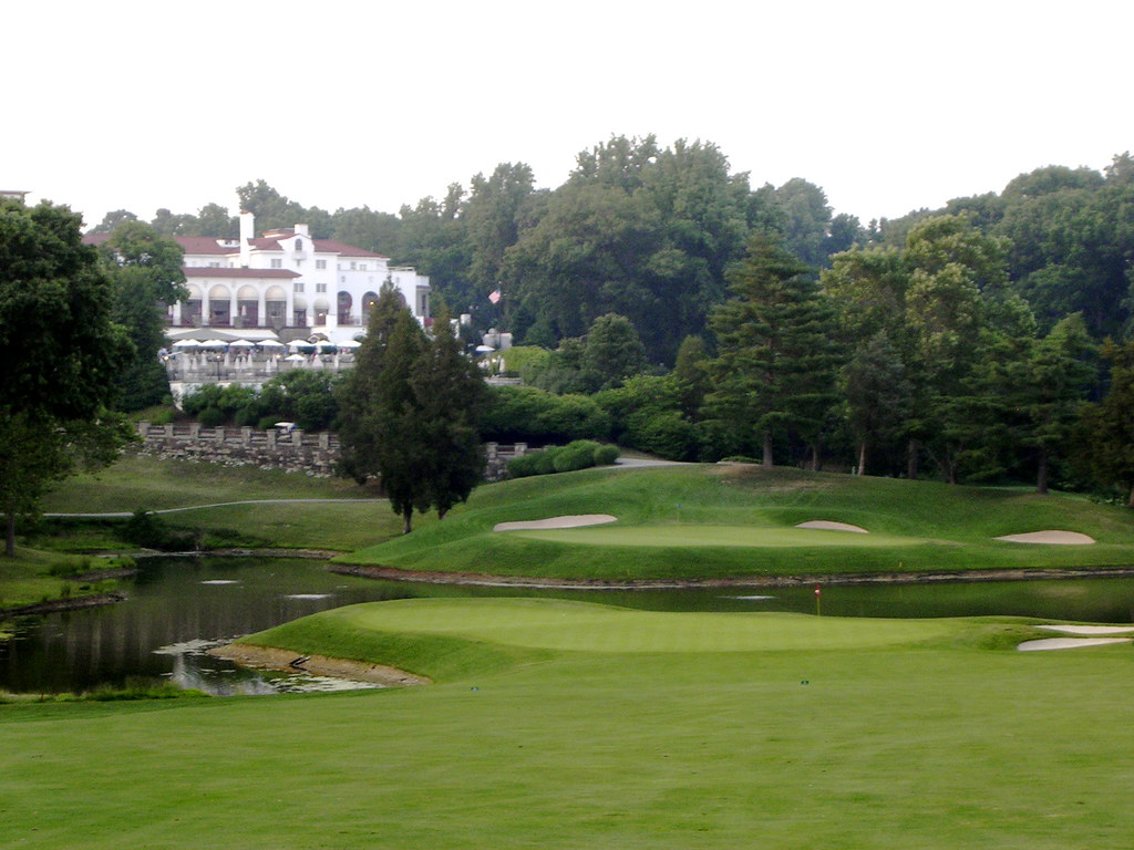 17 Green, 18 Green, and Clubhouse: Congressional Country Club