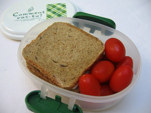 Mini-sandwich bento for toddler お弁当