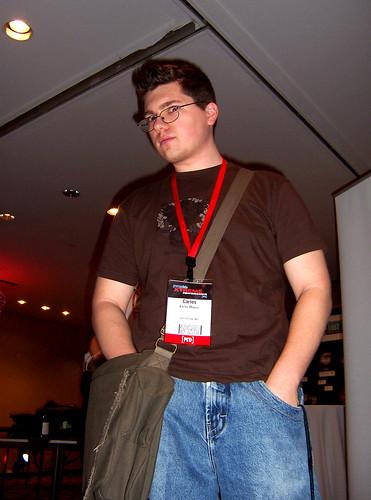 Carlos at Promax/BDA
