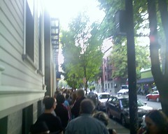 Line Around the Block