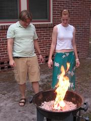 Puppy Burning, Ignite photo by jwinterscom