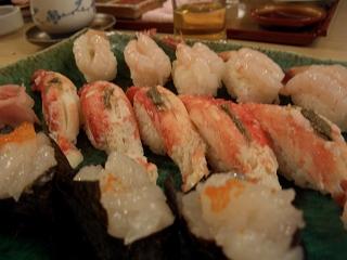 20060410 有馬鉄板焼き 寿司
