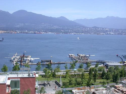 ホテルからの眺め@Vancouver