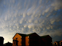 Mammatus Cloud photo by F5Dan