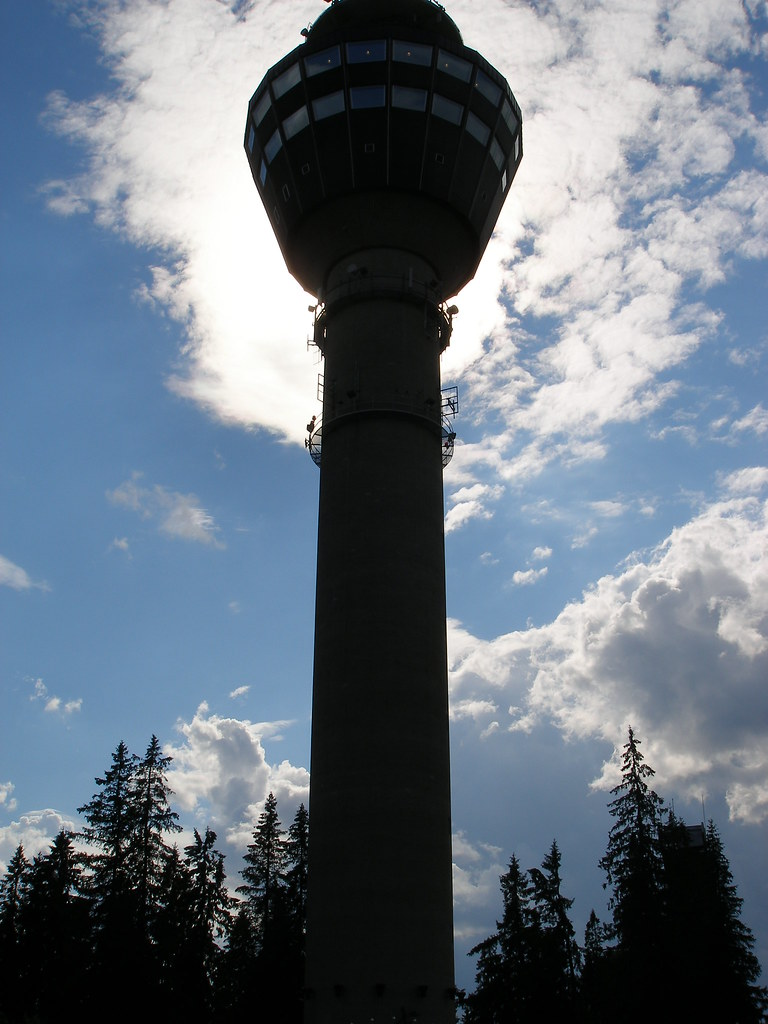 The Puijo Radio Tower, Finland
