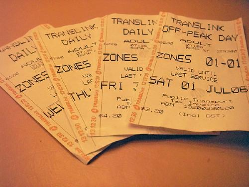 Tickets To Ride 一日券(土曜は安い!)