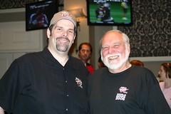 Dad and Howard Lederer