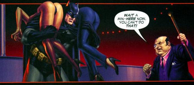 Ne Batman...You Strippers...