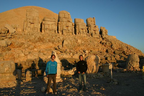 Martin and Nicolai at mt. Nemrut