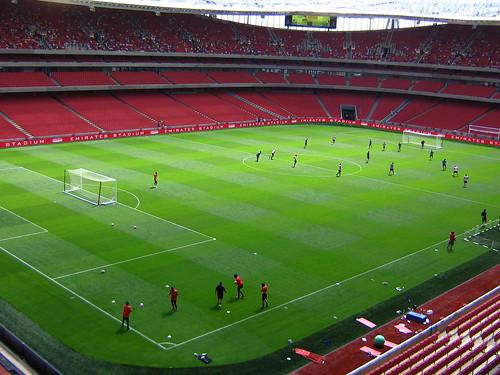 Professional soccer stadiums