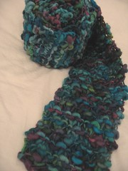 purple point 5 scarf