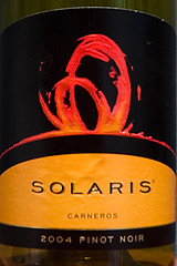 Solaris Wine Label