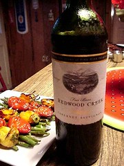 Redwood Wine is Woody