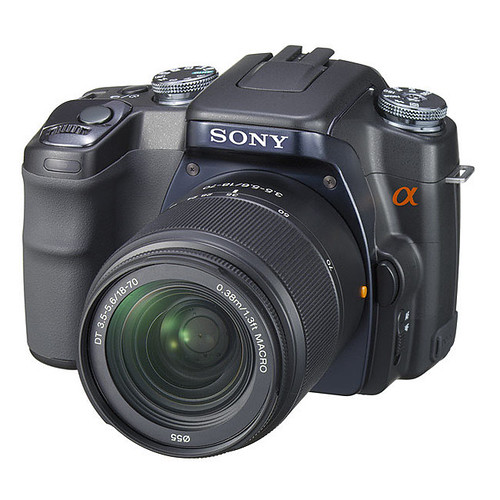 retail price at RM3,499. The price of the new Sony Alpha DSLR
